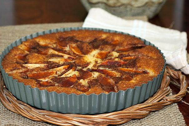 Eplekake - Norwegian Apple Cake