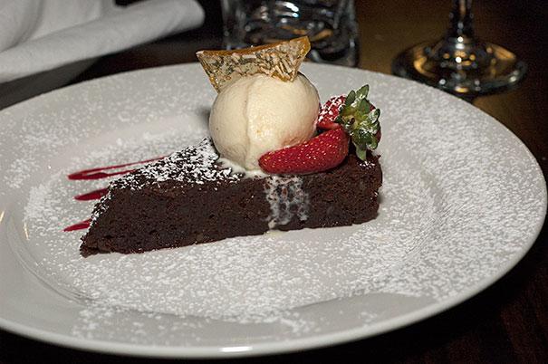 dessert at Cala Luna Maroochydore