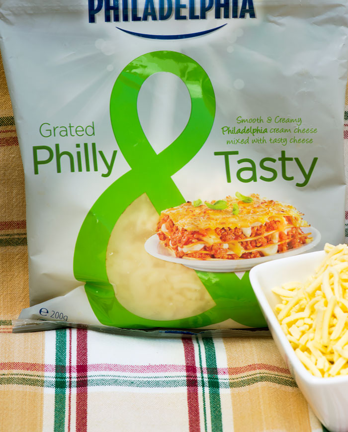 New Grated Philly and Tasty Cheese from Kraft