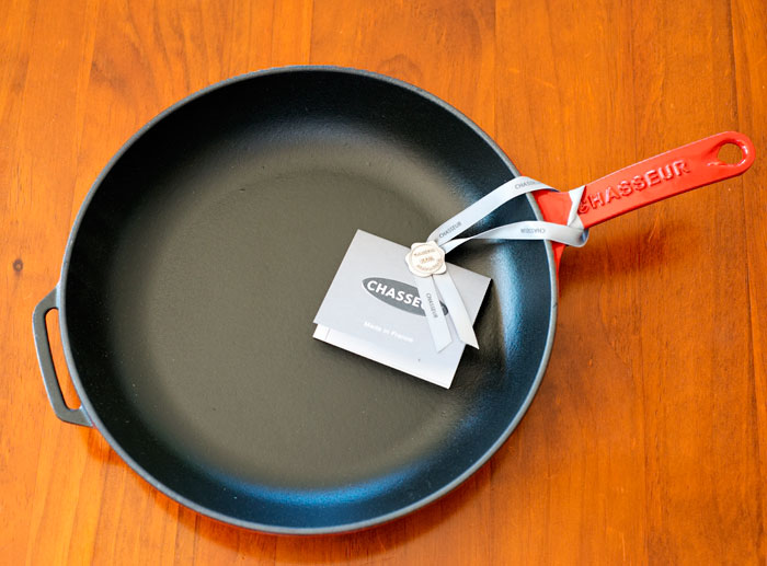 Chasseur Cast Iron Skillet
