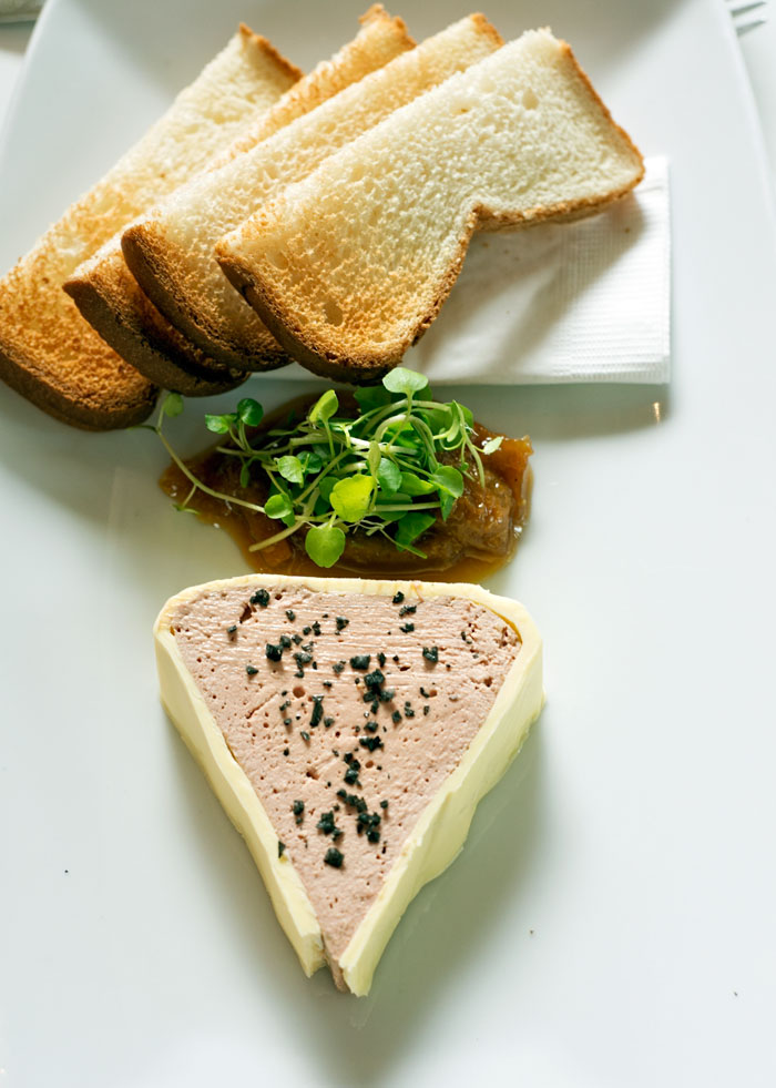 Chicken Pate with Orange Marmalade