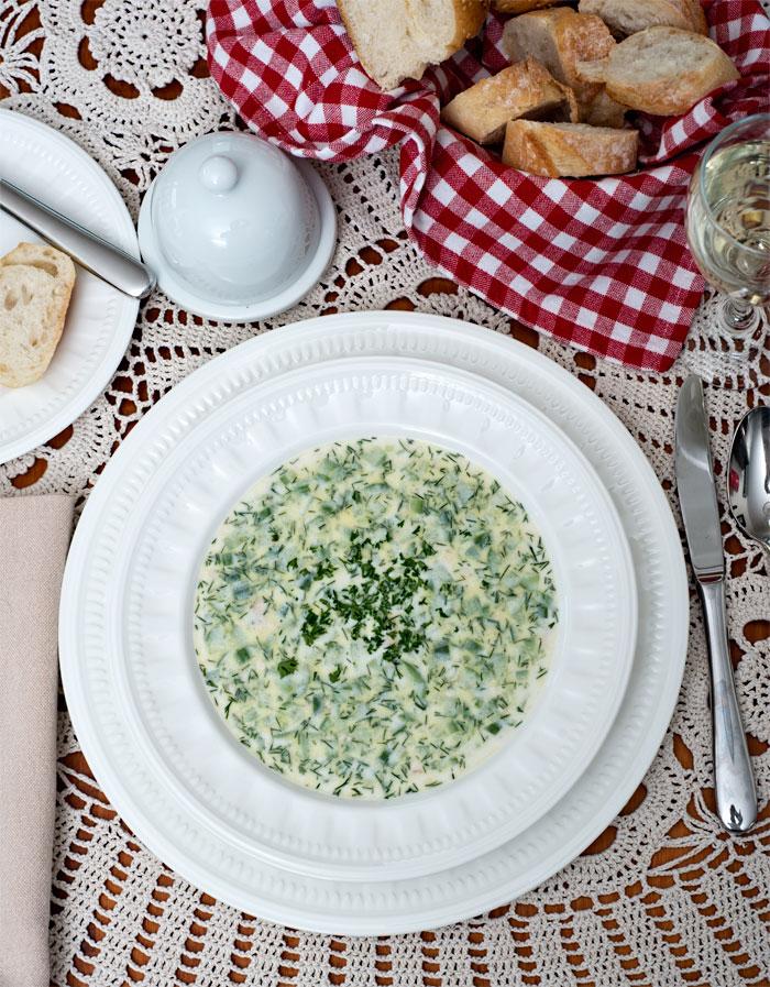 Bulgarian Tarator Soup