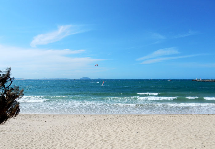 Beach on Parkyn Parade, Mooloolaba
