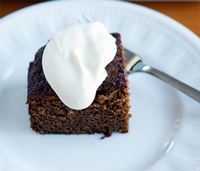 Sticky Gingerbread Cake