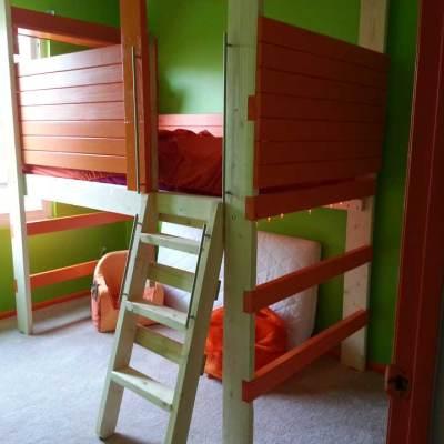 Organized child's bedroom