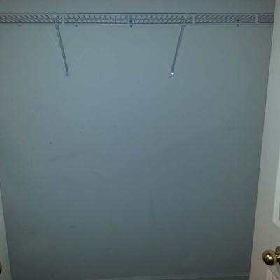 Reach-in storage closet