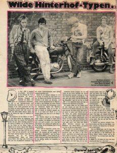 Sex Pistols in Bravo 1976