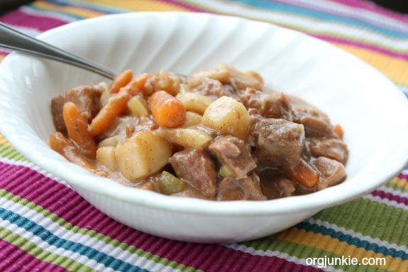 Slow Cooker Beef Stew 1