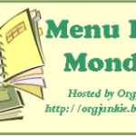 Menu Plan Monday – June 24th