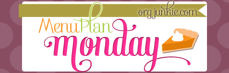 Menu Plan Monday for the week of Sept 29/14