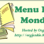 Menu Plan Monday – Oct 15th