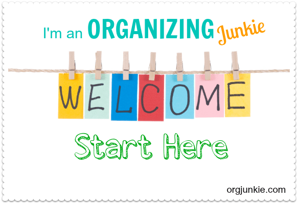 Welcome to I'm an Organizing Junkie!