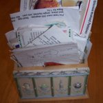 Organizing recipe clippings to suit YOUR needs