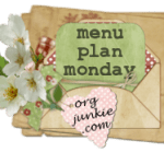 Menu Plan Monday ~ Sept 28th + giveaway