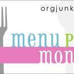 Menu Plan Monday ~ Oct 12th