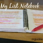 Making lists and batching tasks