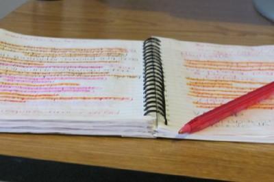 list notebook