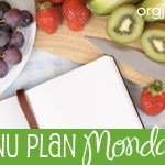 Menu Plan Monday ~ Oct 11th