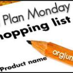 Menu Plan Monday ~ Oct 27/14