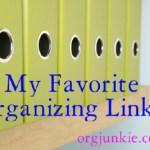 Favorite Organizing Links ~ Chores, Mudrooms, Free Printables + more!