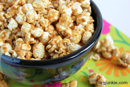 menu plan monday feb 18 13 easy caramel popcorn recipe. Black Bedroom Furniture Sets. Home Design Ideas