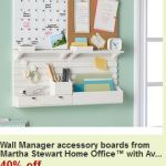 Creating a Command Center with the Martha Stewart Wall Manager