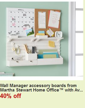 Martha Stewart Wall Manager