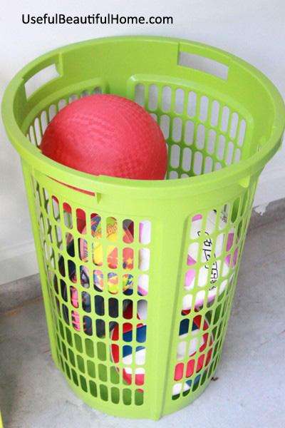 UBH 2 Bushel Basket for outdoor bouncy balls