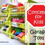 Organizing Concepts for Kids: Garage Toys + free printable