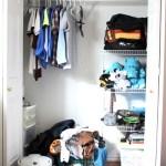 Organized Teenage Boy Closet ~ Day #27