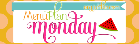 Menu planning recipe links and recources at I'm an Organizing Junkie #organized