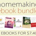 Ebook Bundle of the Week:  Homemaking