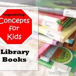 Organizing Concepts for Kids: Library Books