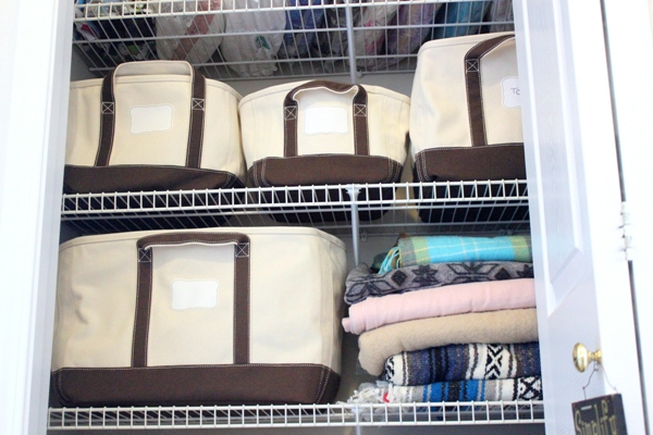 Lands' End Canvas Storage Totes Giveaway at orgjunkie.com!!!