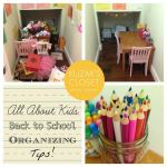 Back to School Organizing Tips, Drawer Organization, Pantry Makeover + more!