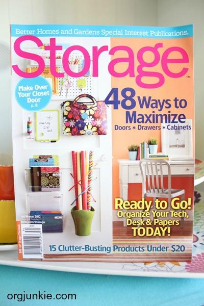 BH&G Storage Magazine