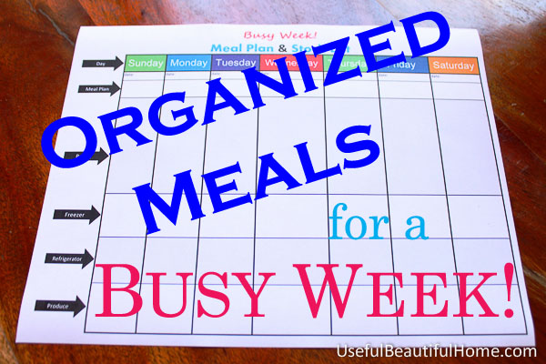Organized-Meals-for-a-Busy-Week
