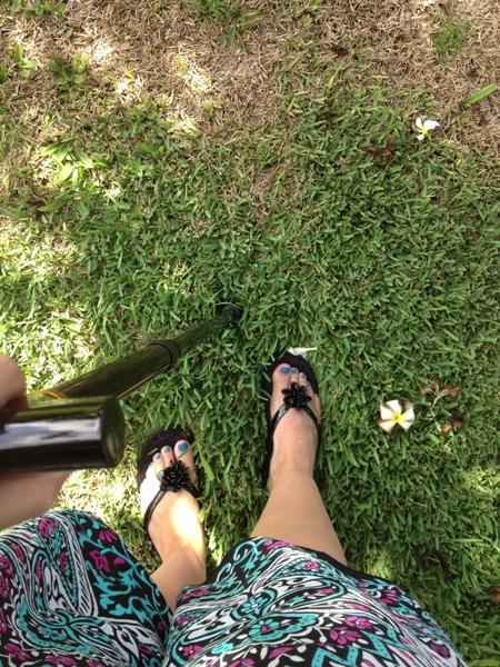 maui with cane