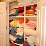 Organized Linen Closet ~ Day #5
