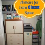 Add a Dresser or Armoire to your Closet for Additional Space ~ Day #21