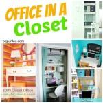 Create a Closet Office ~ Day #17
