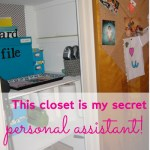 Need A Personal Assistant? Create One With A Hall Closet! ~ Day #24