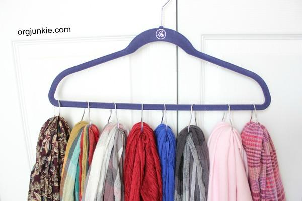 shower hook scarf hanger 2
