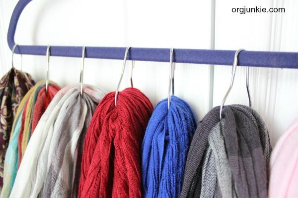 shower hook scarf hanger 3