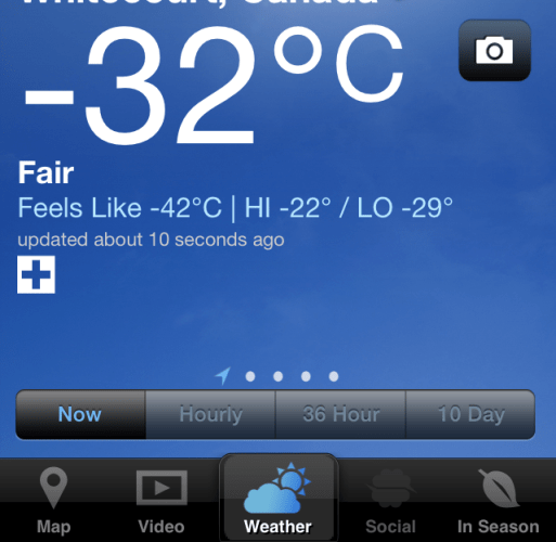 Our Northern Canada Weather