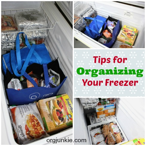 Organizing Projects to Do While Social Distancing at Home ~ deep freezer