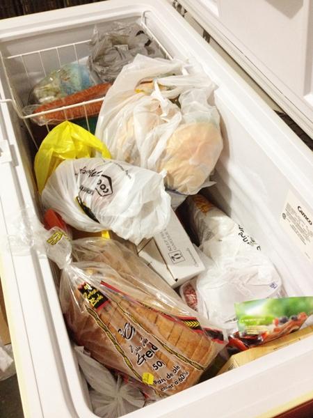 Full Freezer Needs to Be Organized