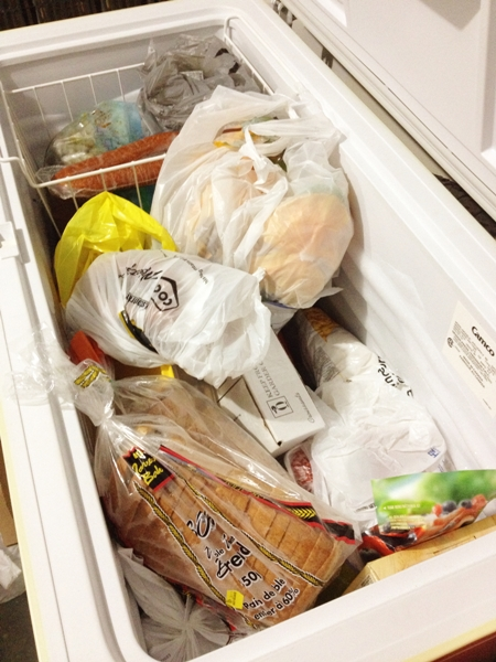Full Freezer Needs to Be Organized