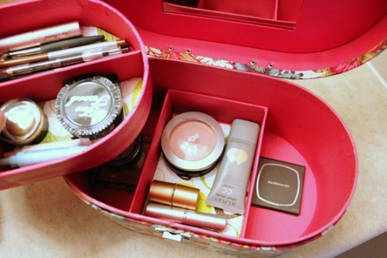 Makeup Case bottom row