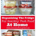 Tips for Organizing Your Kitchen and Fridge